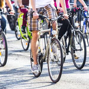 rallye cycliste dans paris en entreprise