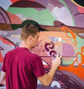 street-art-team-building
