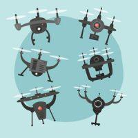 course de drones entreprise