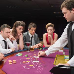 Soirée d'entreprise poker
